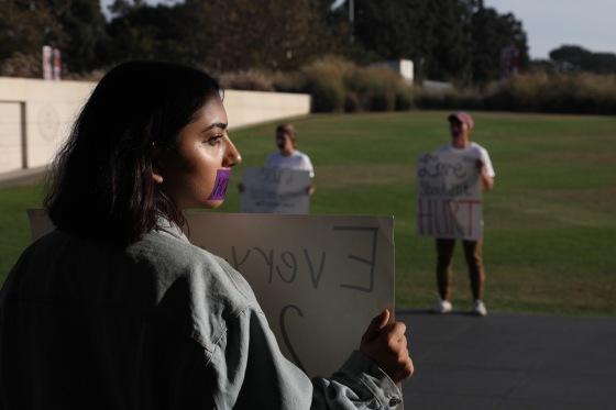 DVA Silent Protest